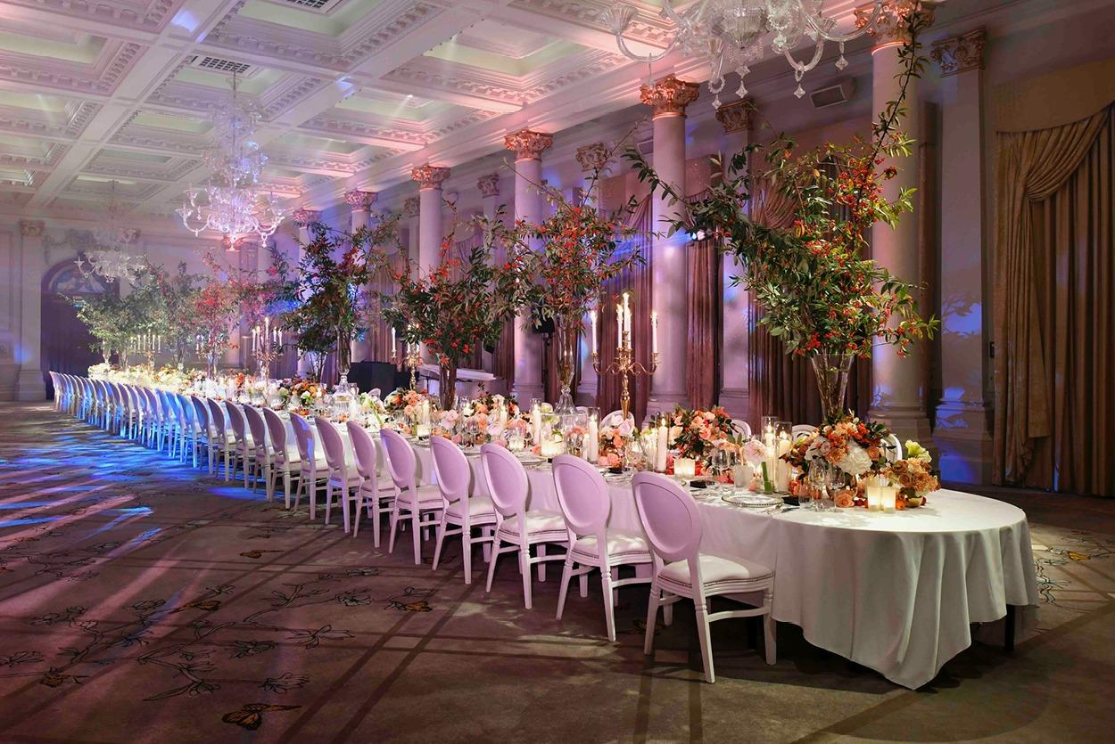 NB Flowers – The Langham London showcase