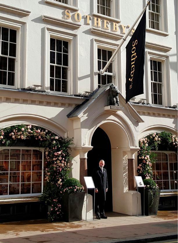NB Flowers – Deborah, Duchess of Devonshire sale preview at Sothebys