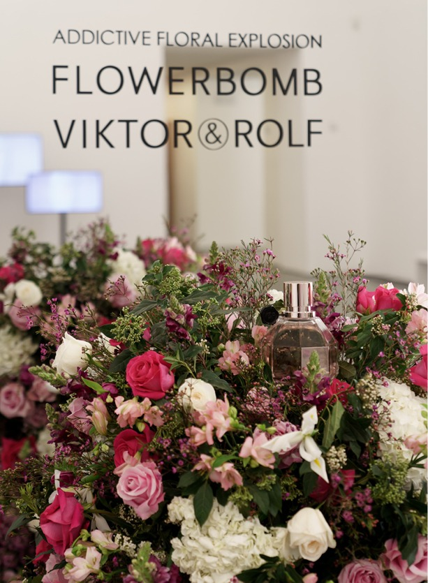 NB Flowers – Addictive Floral Explosion for Victor and Rolf product launch
