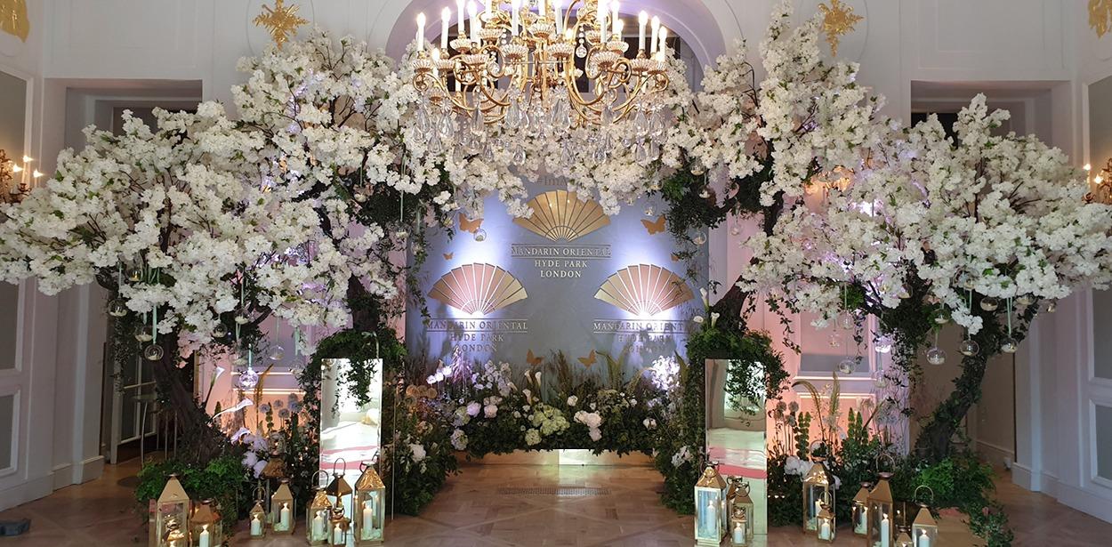 NB Flowers – Mandarin Oriental Hyde Park Launch Party