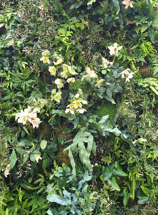 NB Flowers – Spring flower wall at Open Art Fair