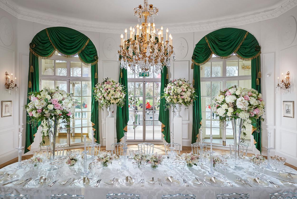 NB Flowers – Loggia, Mandarin Oriental Hyde Park, Spring wedding